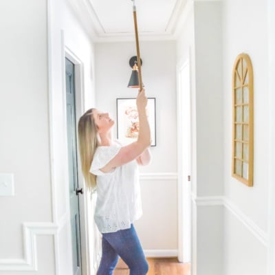 How to Replace an Attic Door String with a Hook