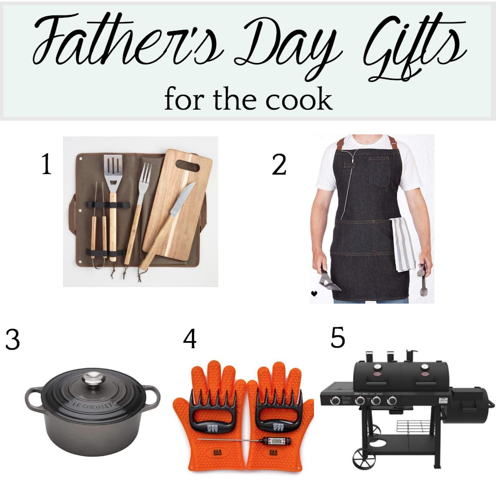 Father's Day Gift Ideas for the Cook and Grill Master