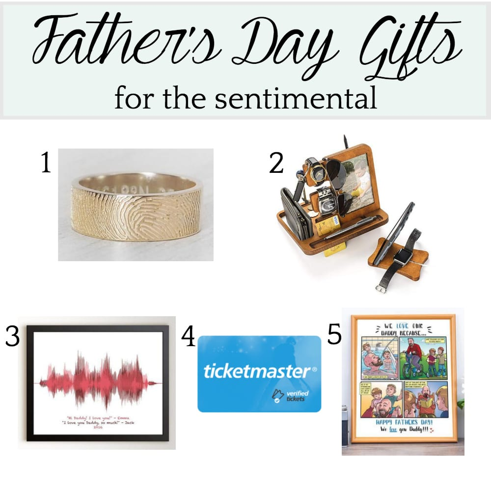 Father's Day Gift Ideas for the Sentimental
