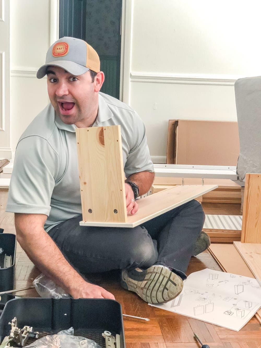 DIY IKEA Pantry Cabinet   blesserhouse.com