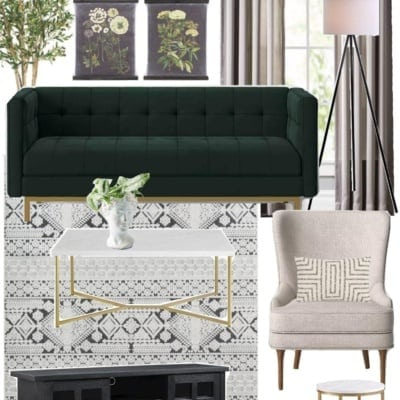 3 Living Room Designs Under $2,000