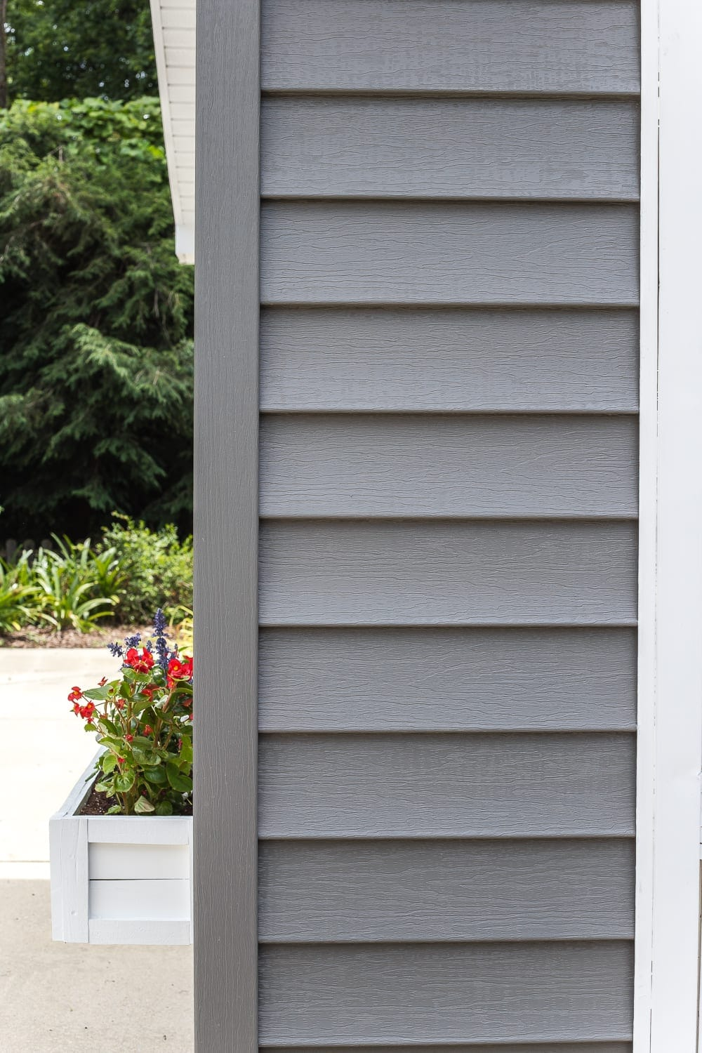 How To Paint Vinyl Siding Amp Pool Shed Makeover Bless Er