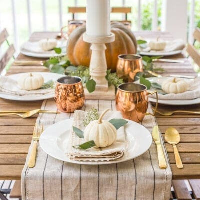Fall Back Porch & Choosing the Best Capsule Decor