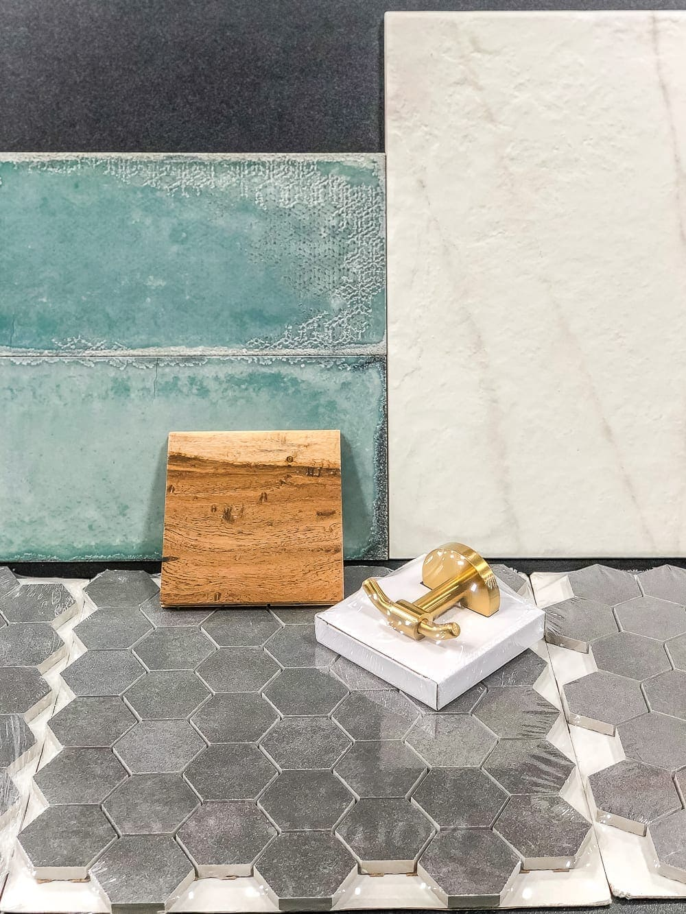 Our new favorite tile and flooring resource Floor & Decor + 3 bathroom design plans for moody, beachy, and cottage styles.