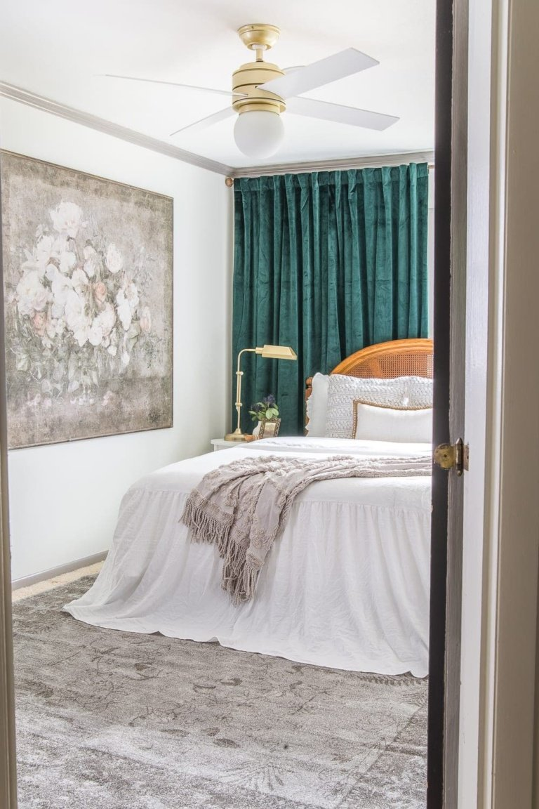 Our Guest Bedroom Makeover Reveal