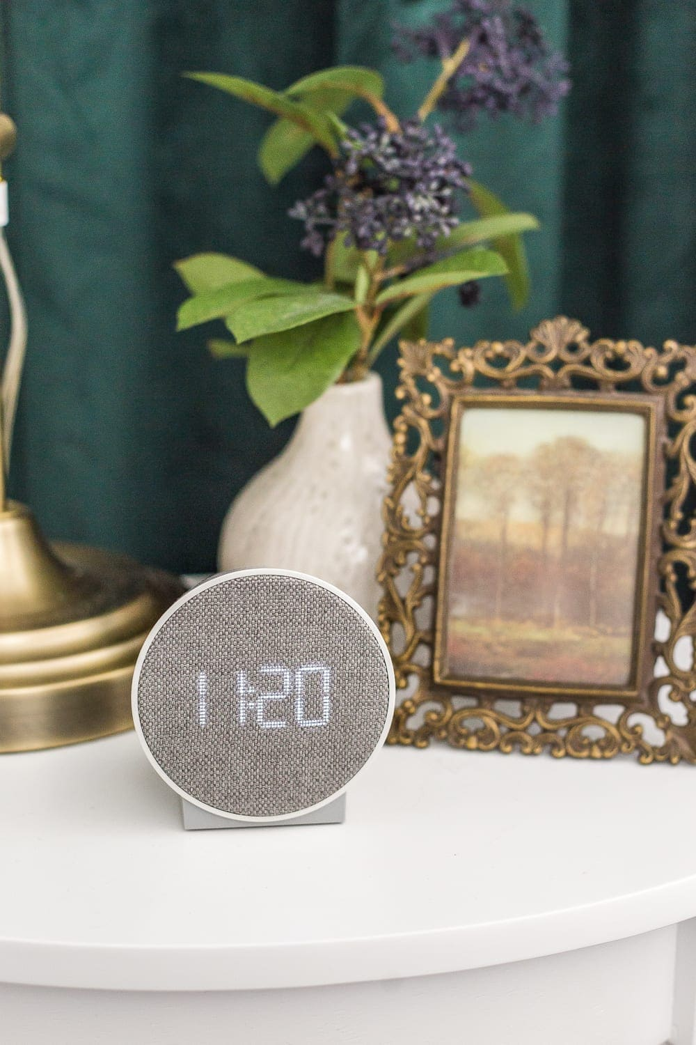 38 Guest Bedroom Essentials | Have an alarm clock on a bedside table.