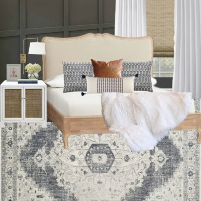Moody Master Bedroom Mood Board and Refresh Plans