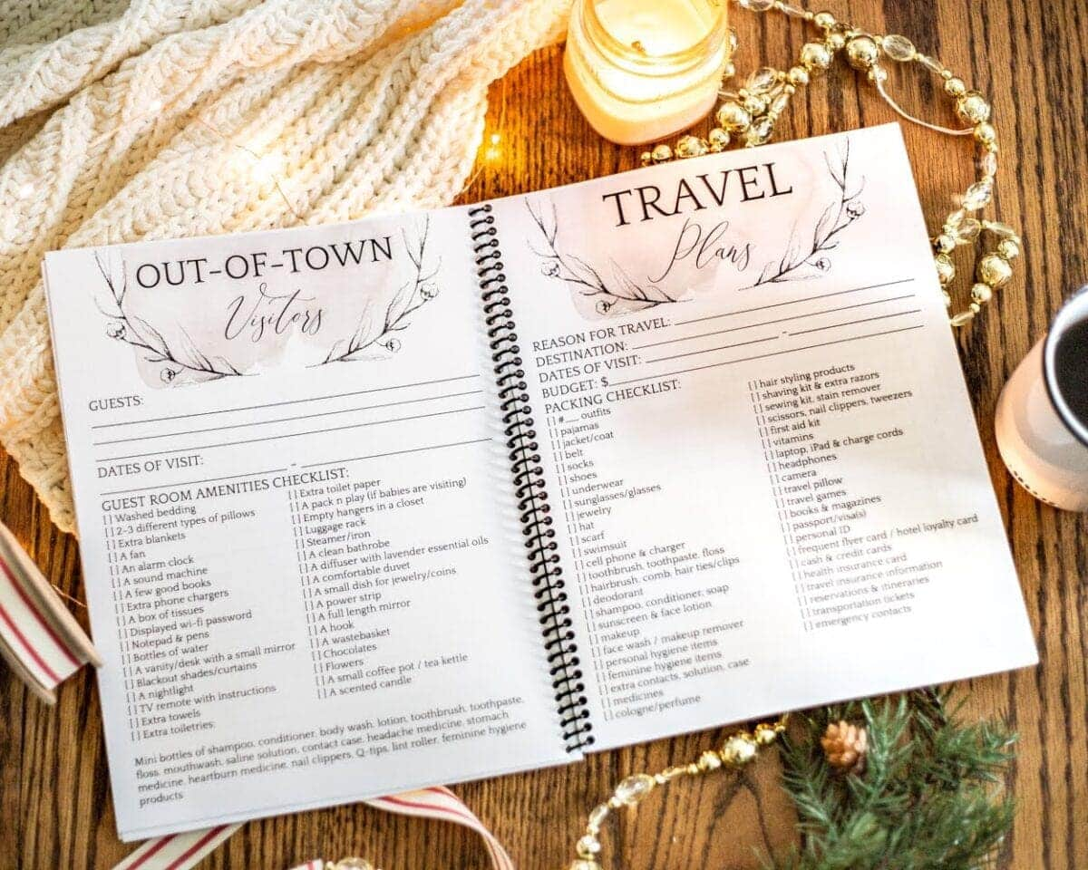 Stress Free Holiday Planner Launch Bless Er House
