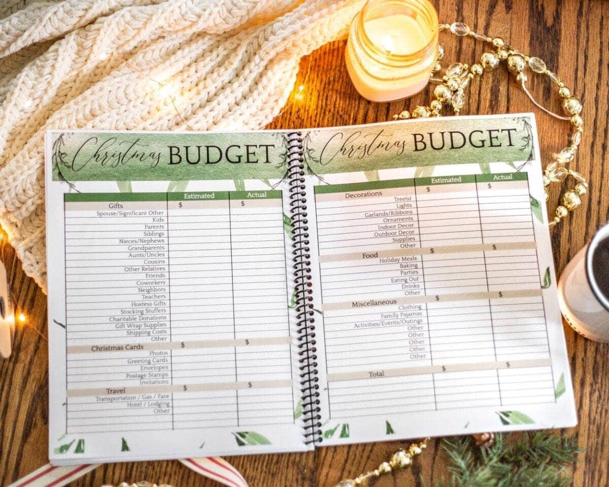 Stress-Free Holiday Planner | The ultimate 75 page printable holiday planner to help you take the stress out of preparing for Thanksgiving, Christmas, and New Year's with checklists, calendars, templates, and more.