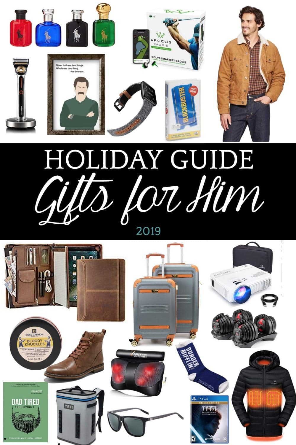 Holiday Gift Guide For Him 2019 Bless Er House