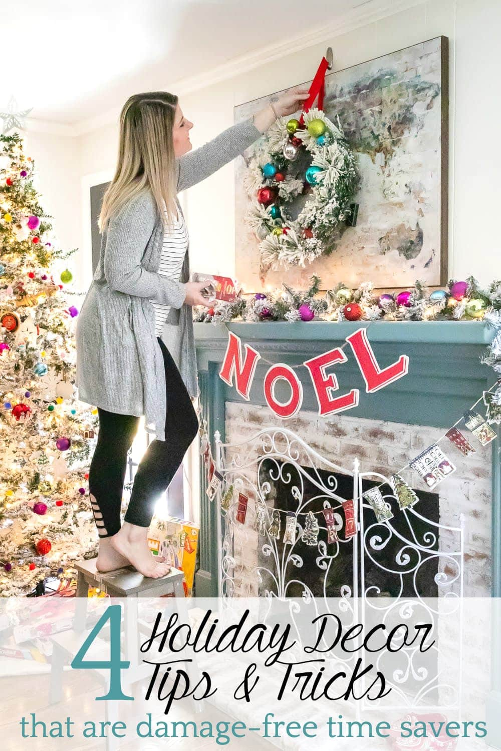 Christmas Decorating Tricks | How to hang wreaths and garlands without damaging walls or furniture