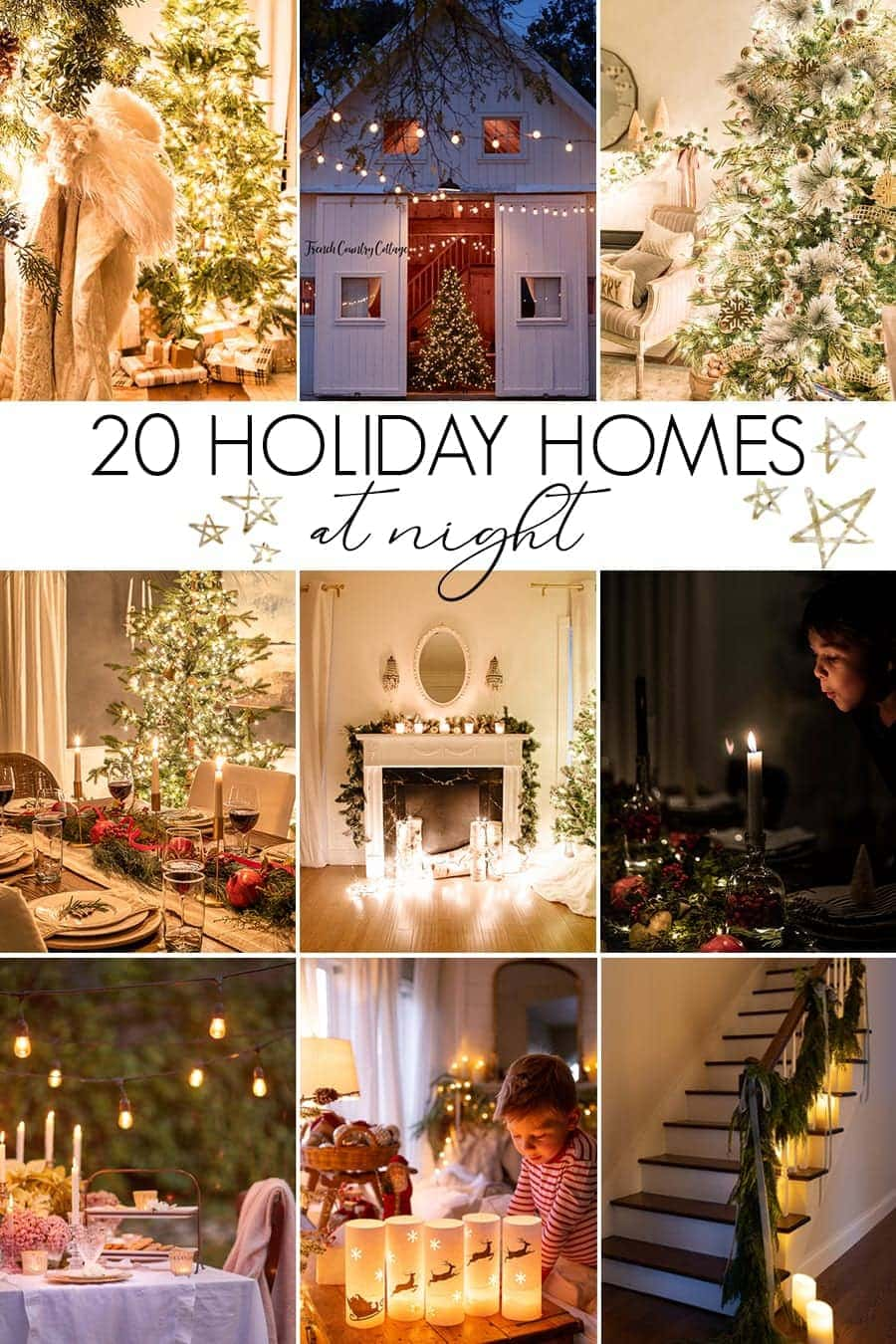 Chistmas Candlelight Home Tours