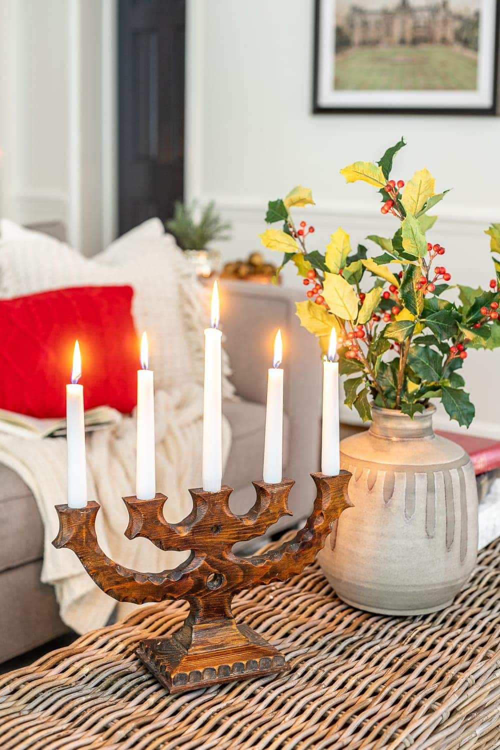 Christmas decor ideas | Scandinavian Christmas