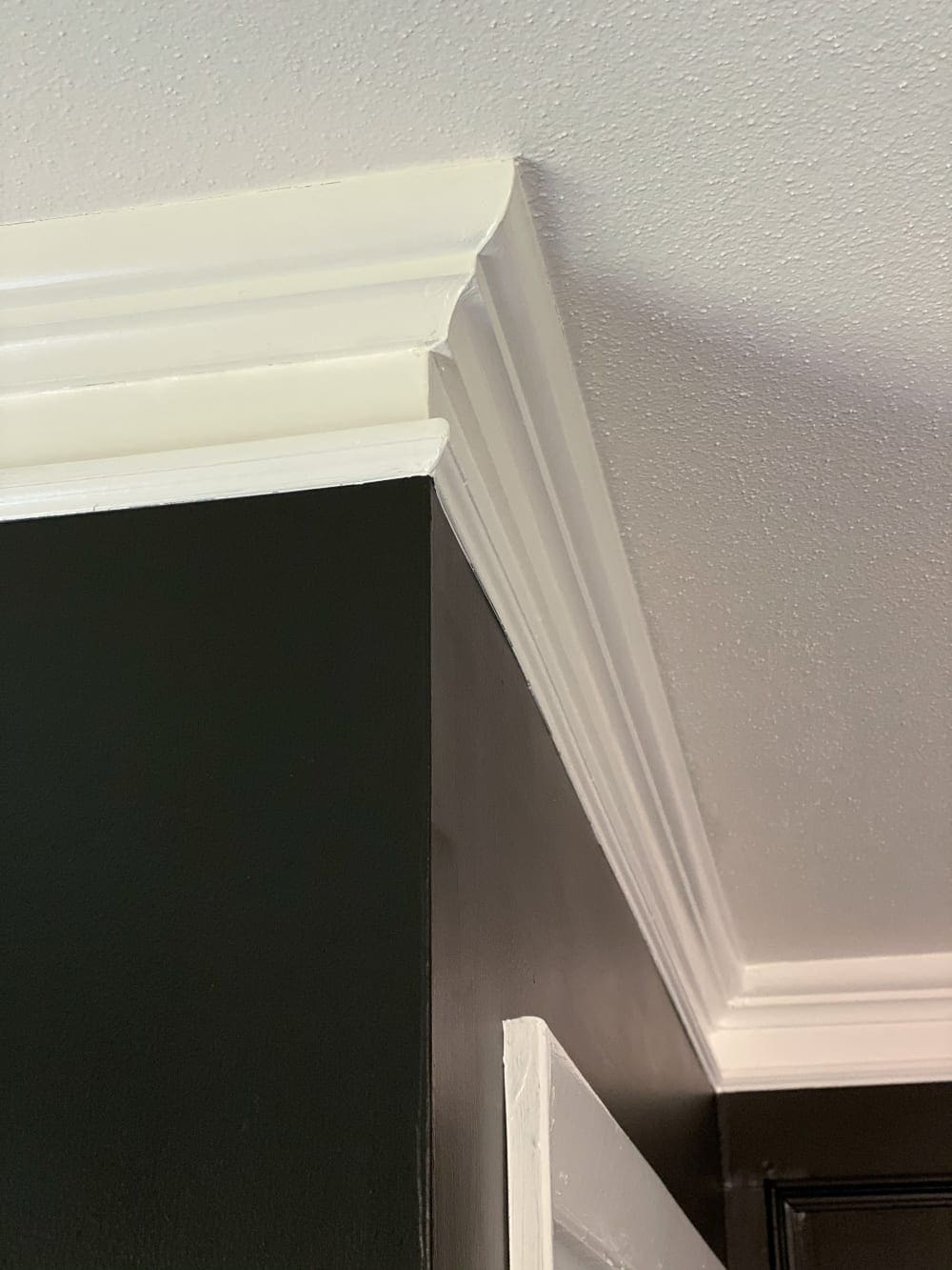 How to Quickly Beef Up Crown Molding and Baseboards   One easy trick to make thin crown molding and baseboards thicker and more stately for less than $1 per foot.