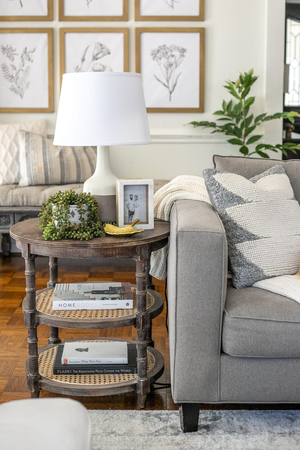 Simplified Decorating How To Style End Tables Bless Er House
