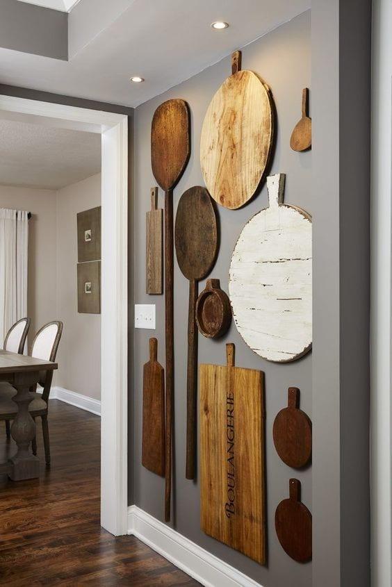 DIY Wall Decor Ideas | cutting boards