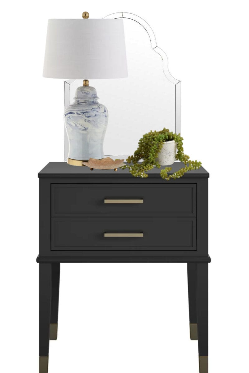 4 Simple Nightstand Decor Ideas Bless Er House
