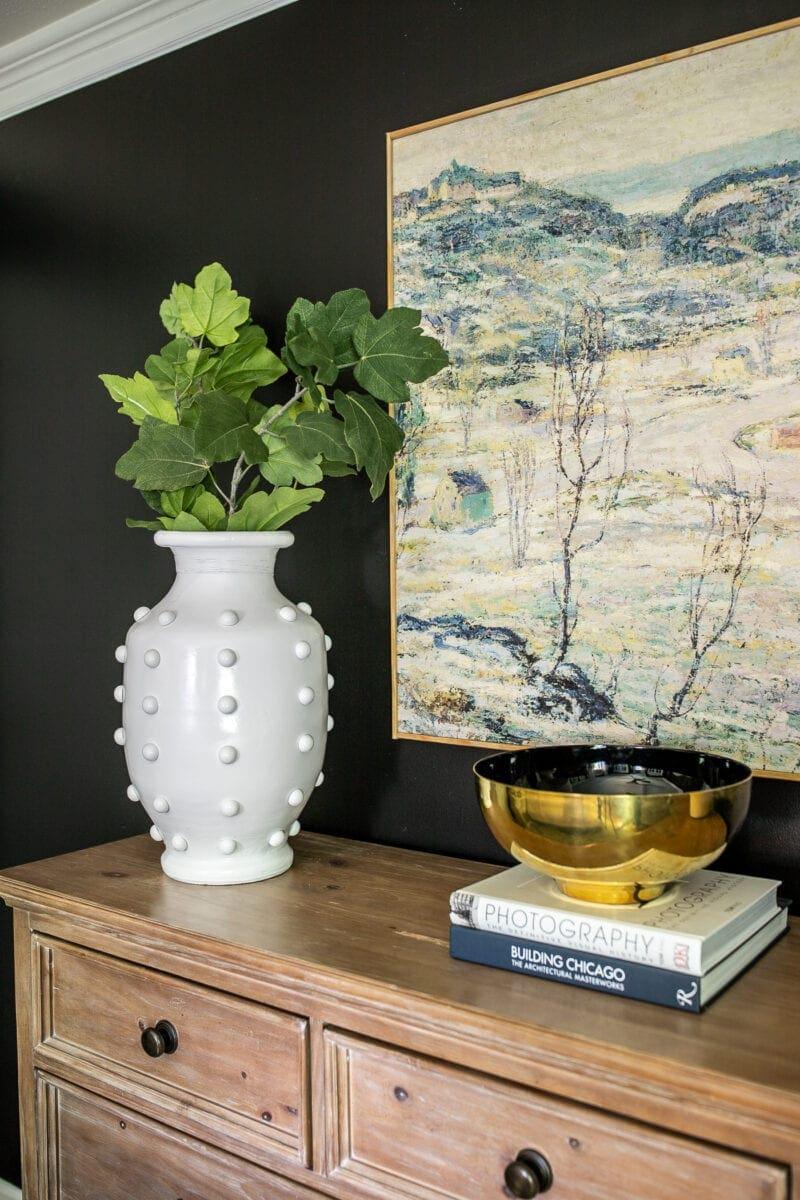 DIY Hobnail Vase   Anthropologie knock-off