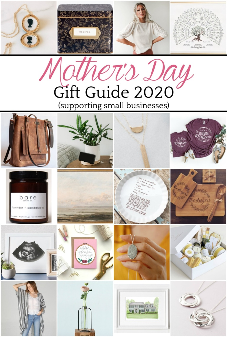 Mother's Day Gift Guide 2020 Small Business Style