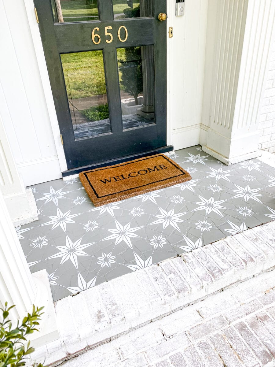 How to use porch paint and make it last