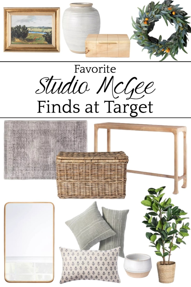 Favorite Decor from Studio McGee at Target