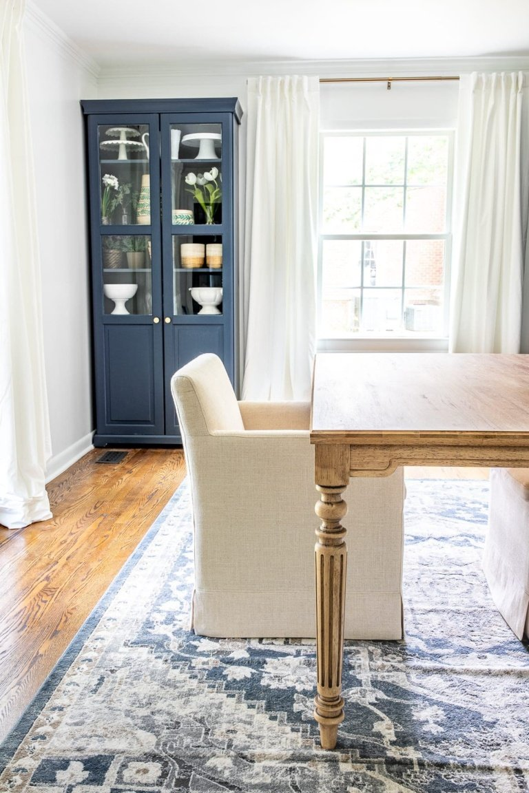 Work Table Makeover & Customizing Unfinished Furniture