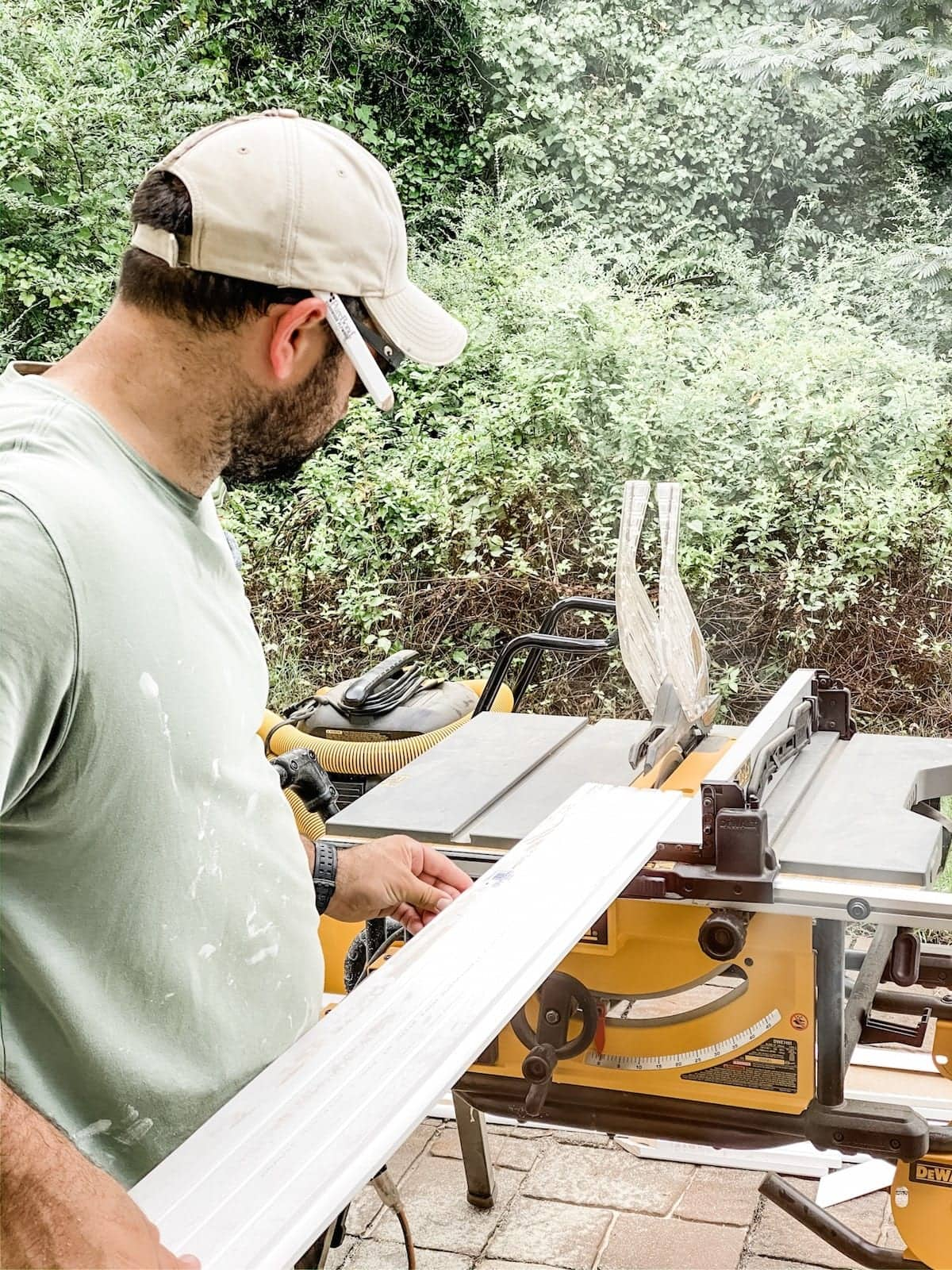 cutting boards with a table saw