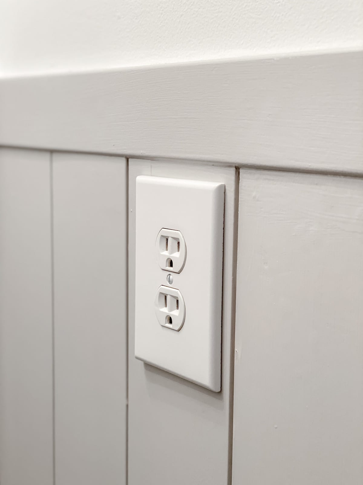 outlet spacers to push out outlet flush with shiplap