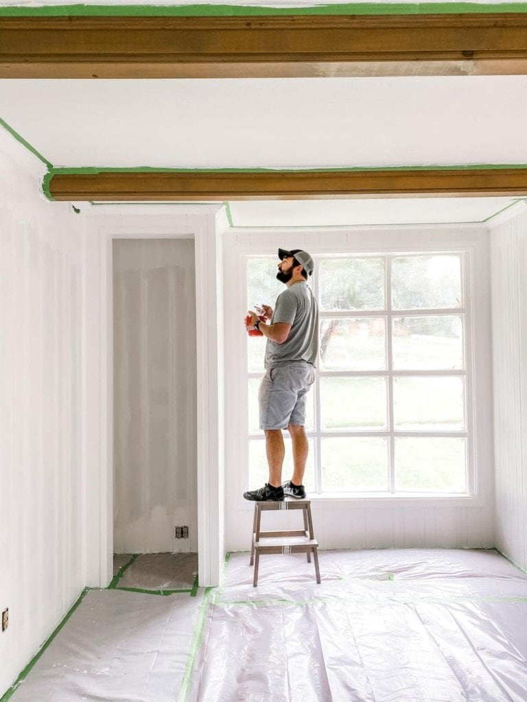 DIY Painted Wall Paneling & McNay Project Update!