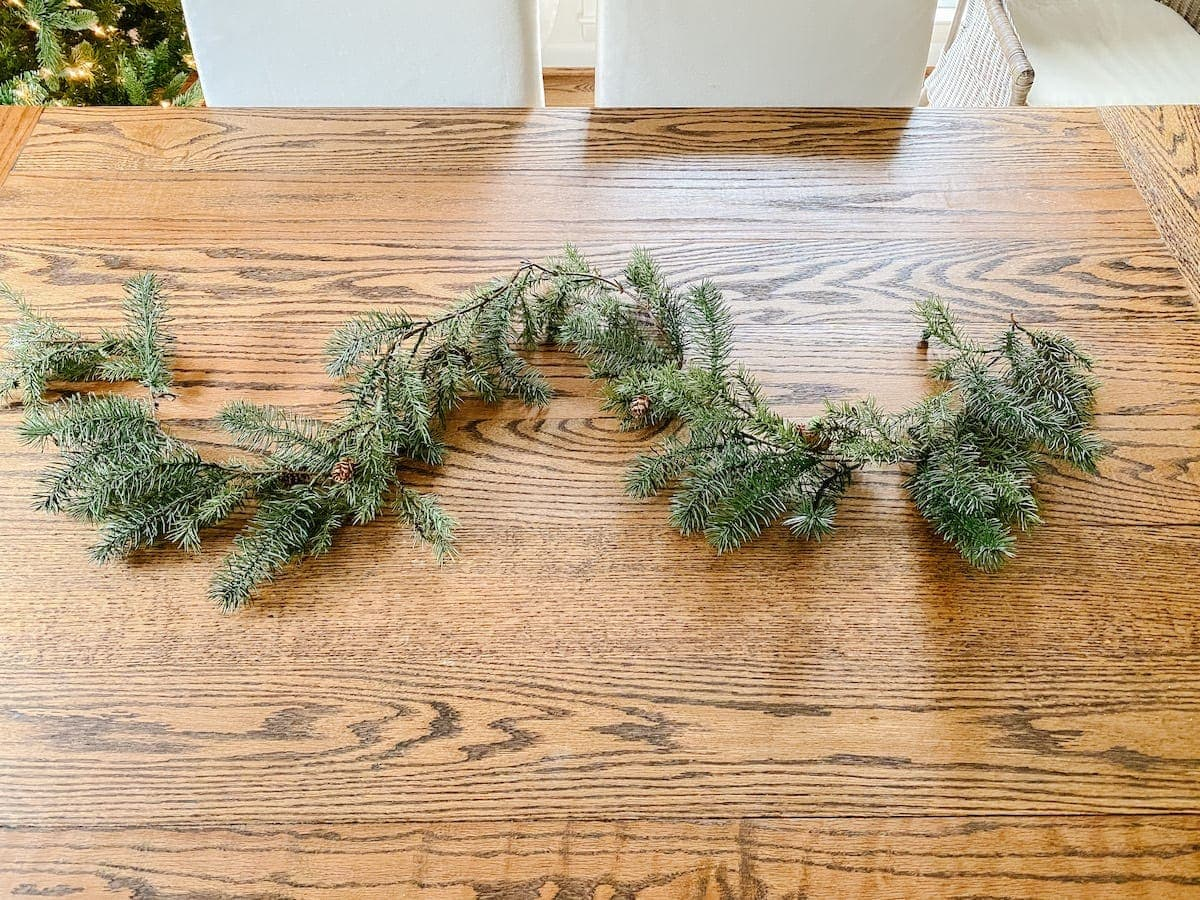 How to make a cheap Christmas garland look high-end