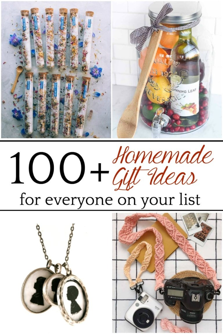 100 DIY Christmas Gifts for Everyone on Your List