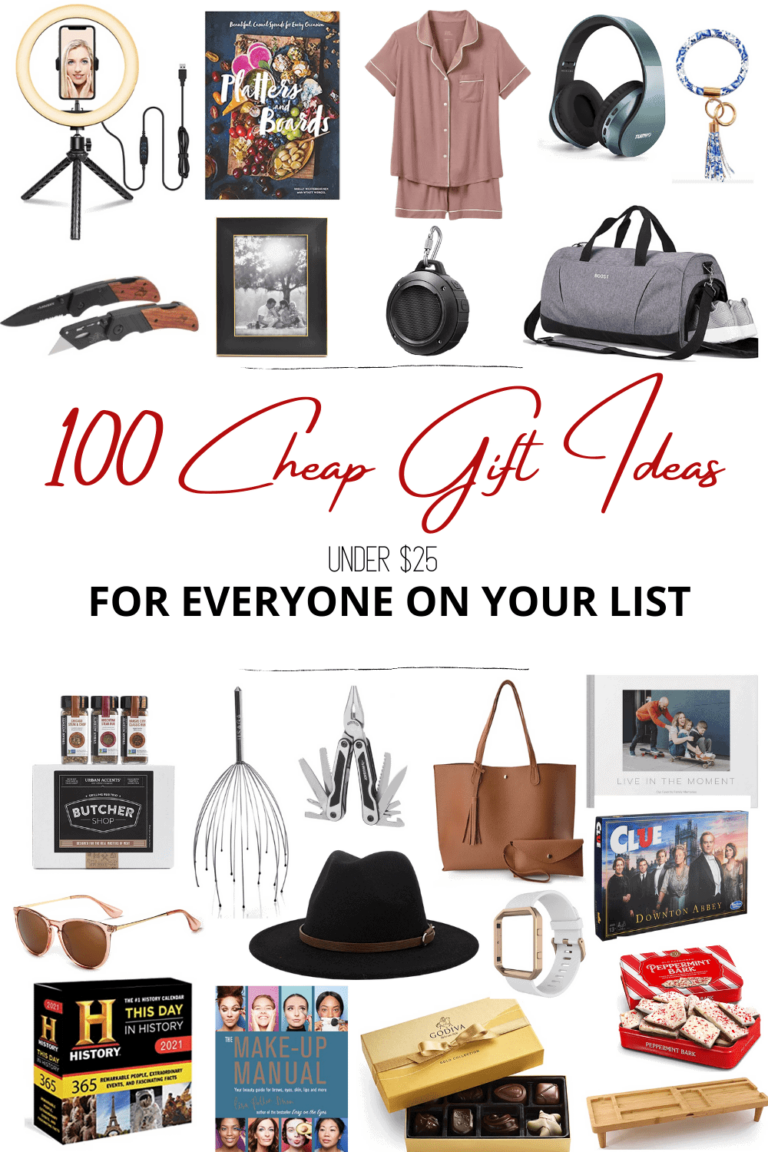 100 Best Cheap Gift Ideas for Christmas