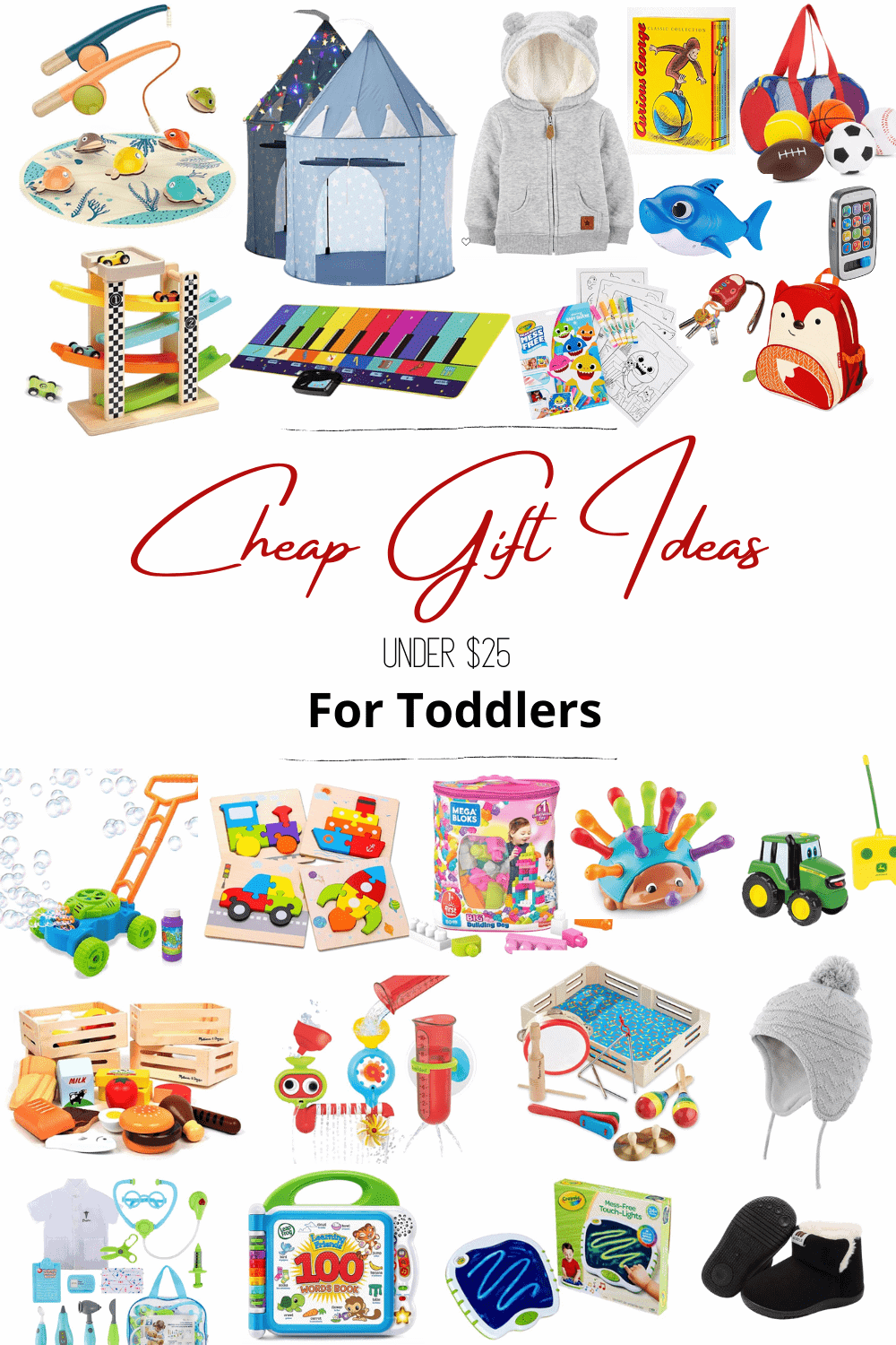 cheap gift ideas for toddlers