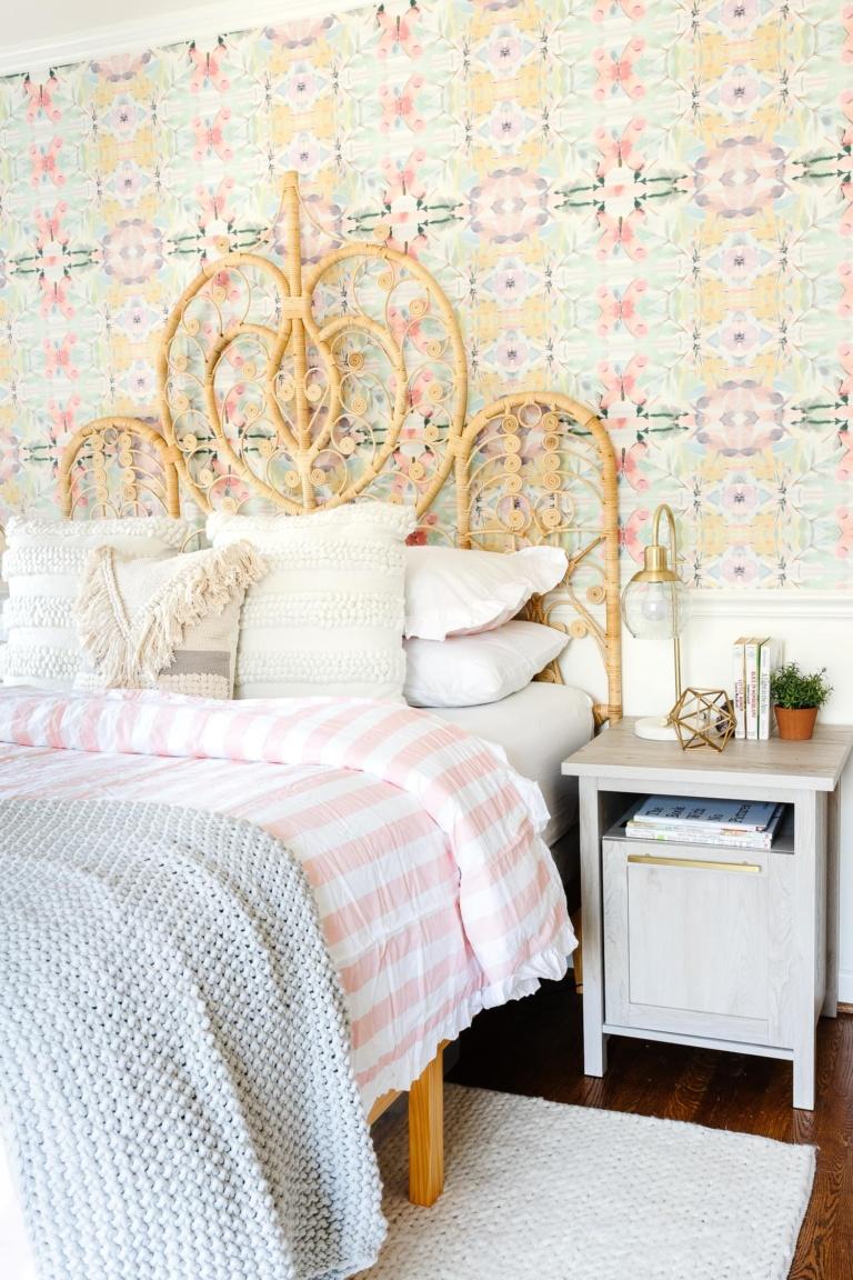 Boho Girl Bedroom Refresh