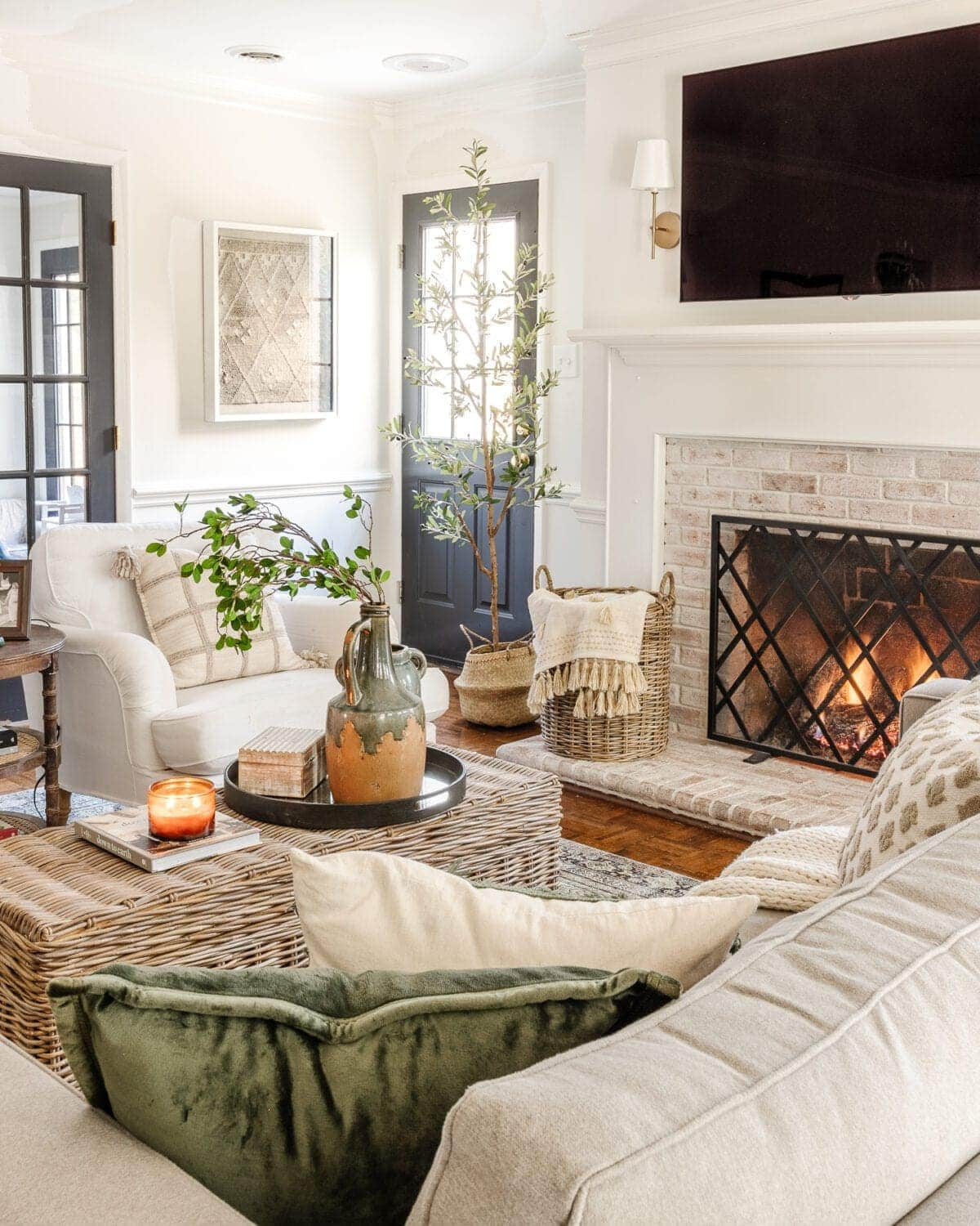 4 decor elements every room needs to create a warm, cozy, vibrant space for winter and year-round, plus how to add life to a neutral palette.