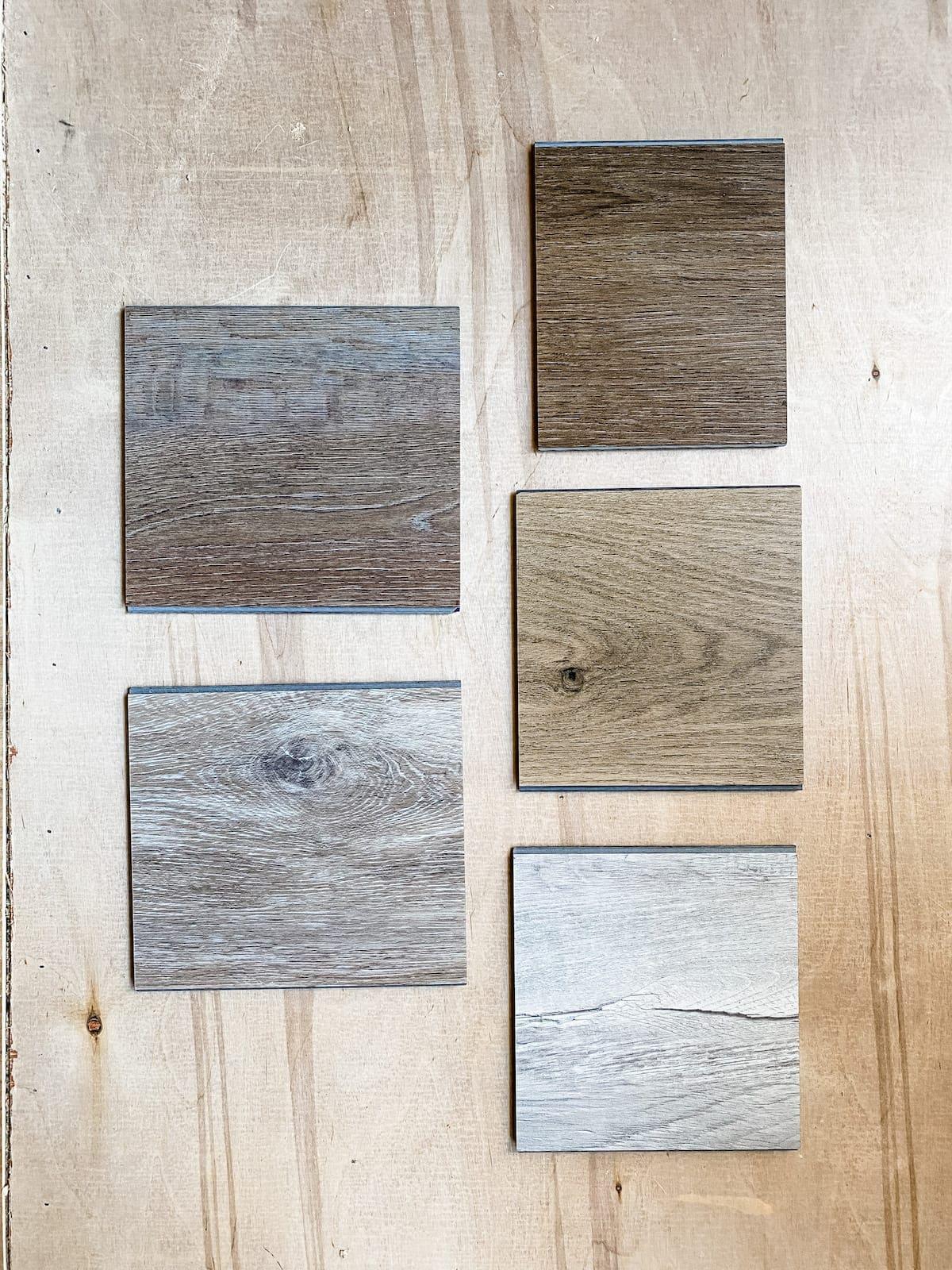 ProCore Flooring samples