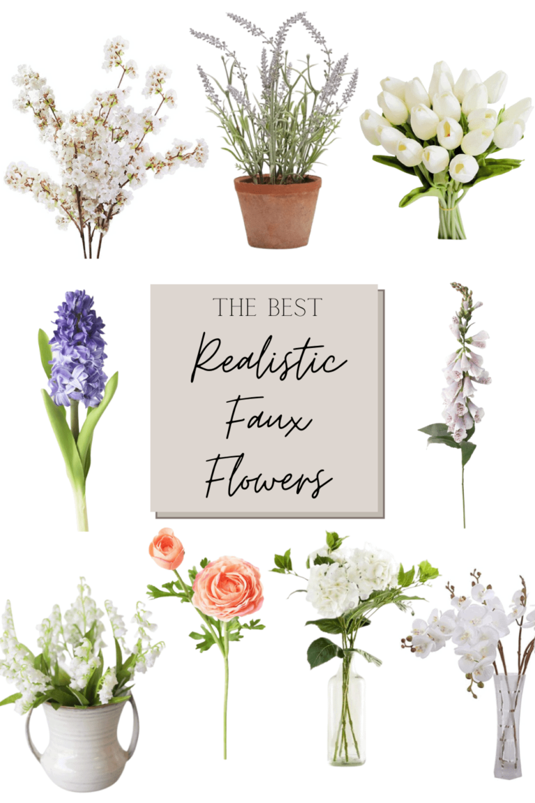 The Best Faux Flowers for Spring and Summer