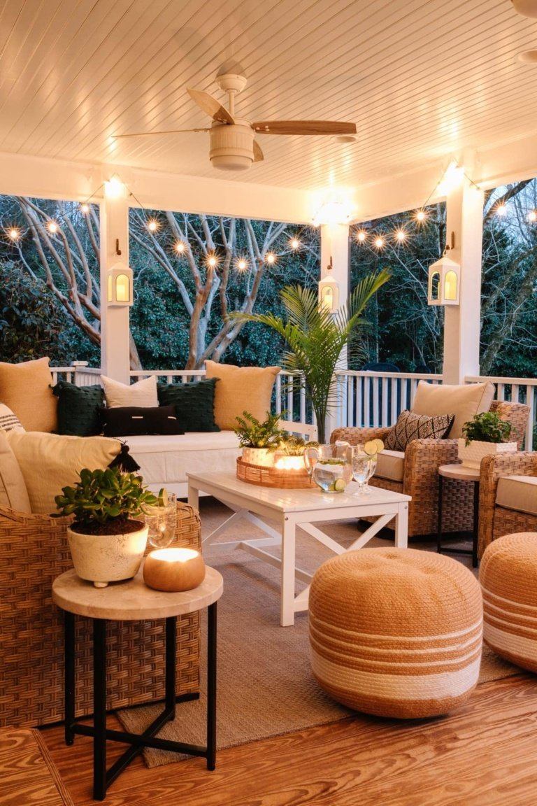 Our Back Porch Refresh