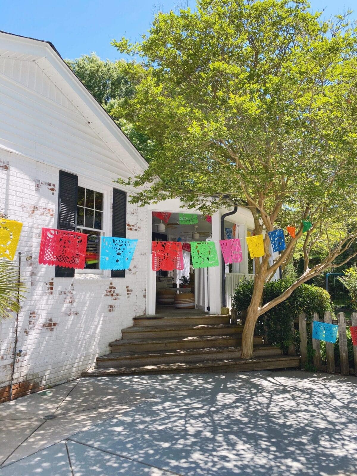 Mexican banner baby shower decor