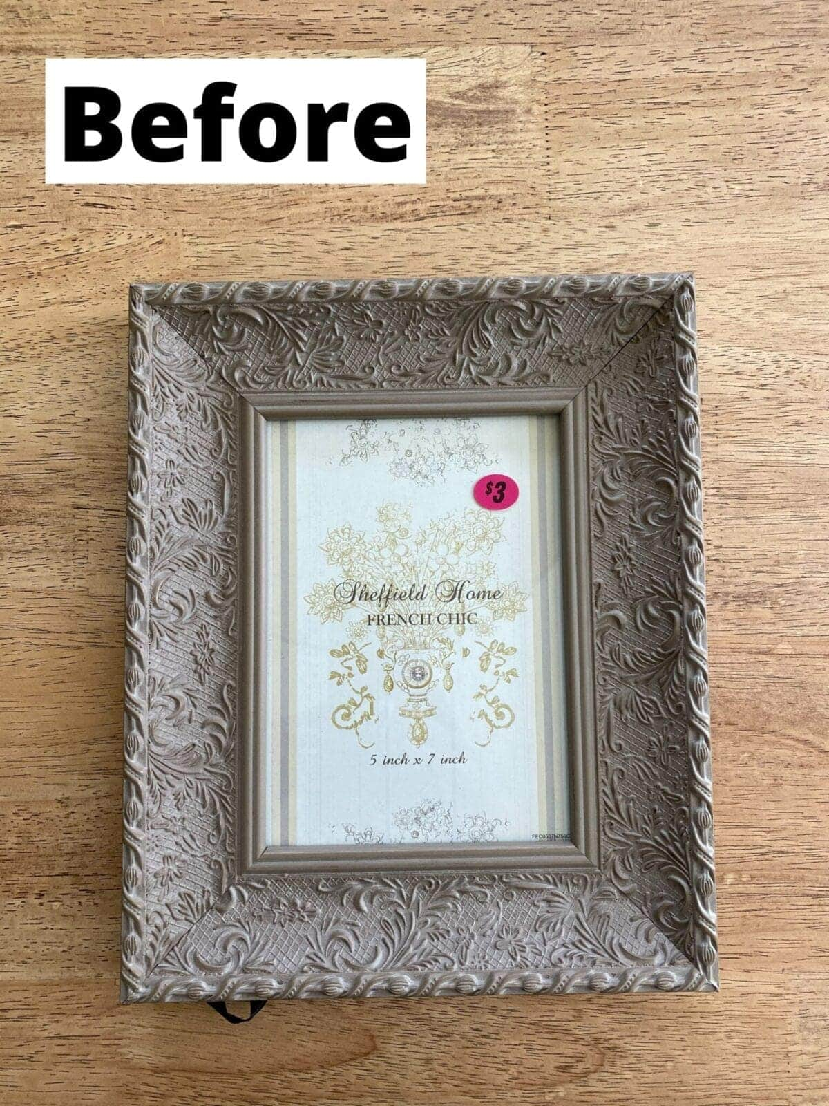thrifted picture frame