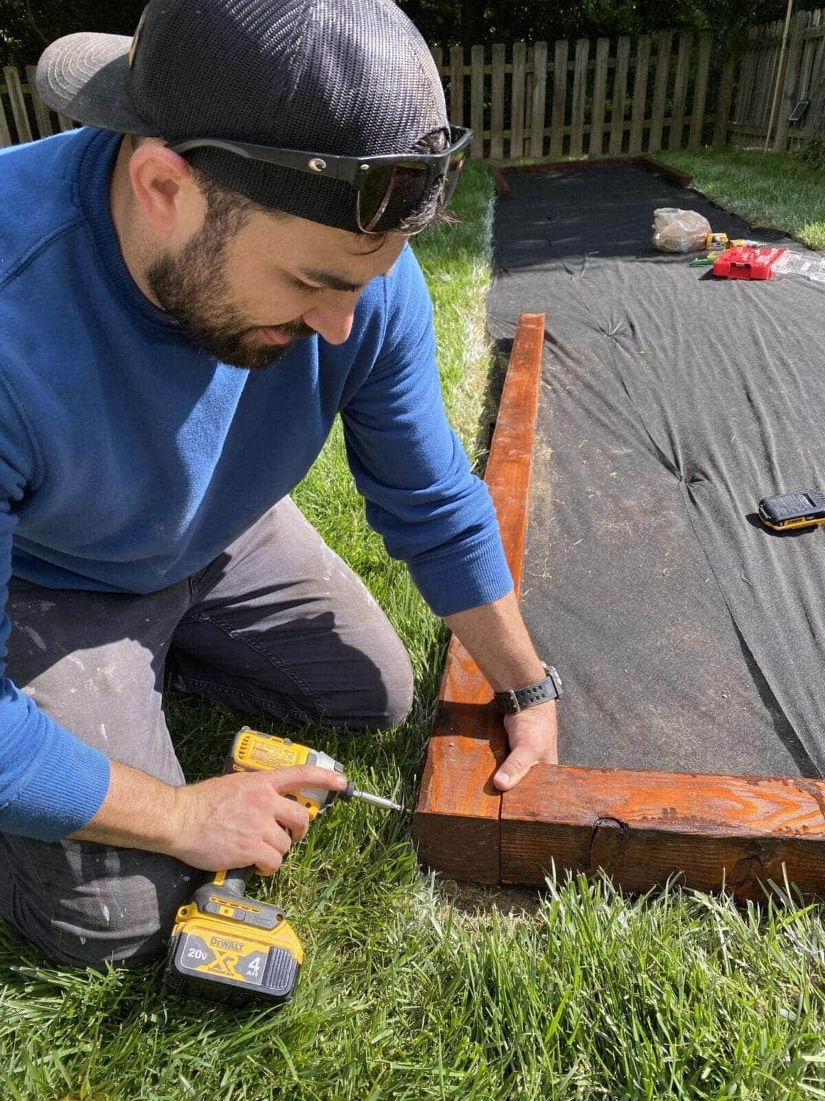 building a wood frame box