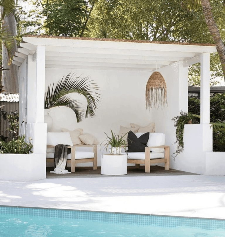 7 Pool Cabana Inspirations (and Planning Our Next Backyard Project)