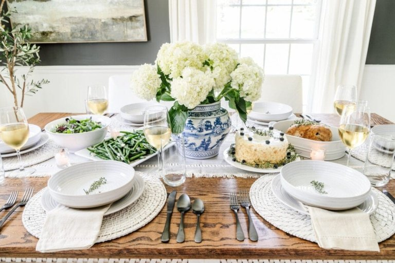 Mother's Day Tablescape & My Favorite Budget Dinnerware