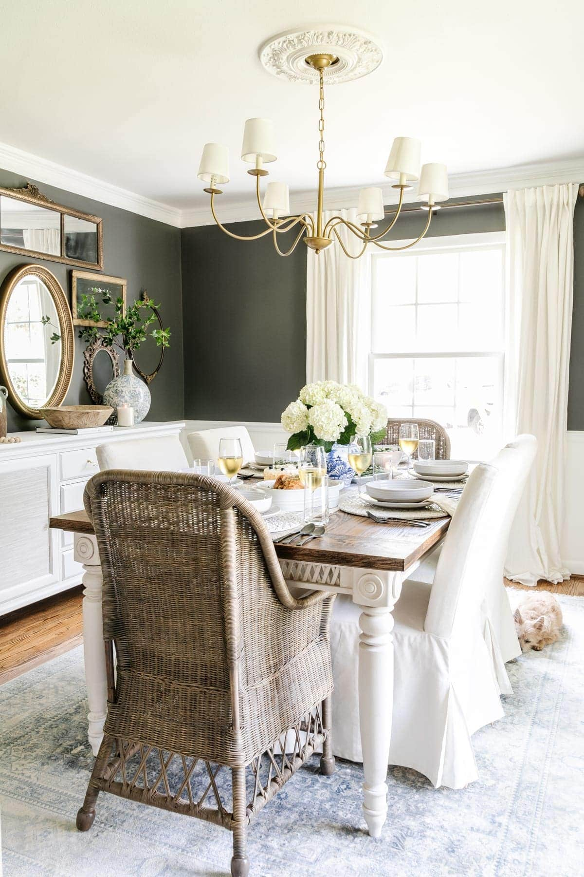 Our Modern Classic Dining Room Makeover Plans