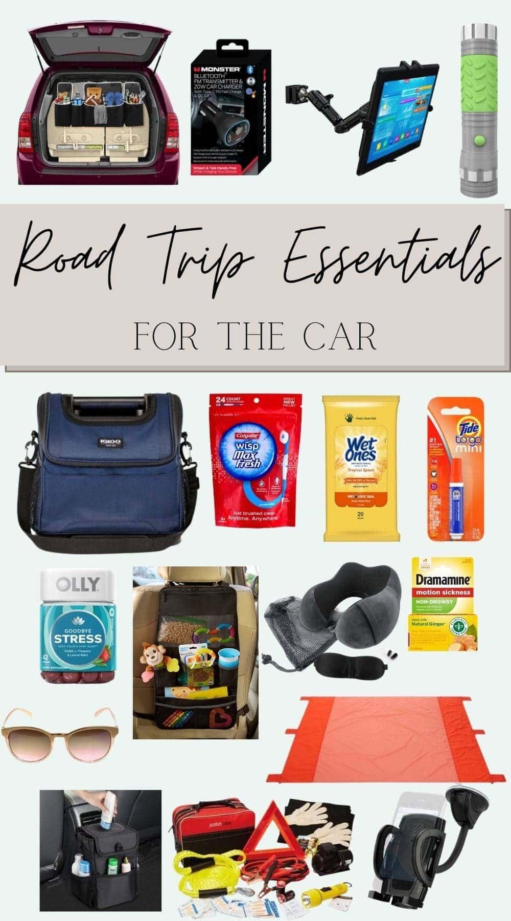 Road trip essentials for the car