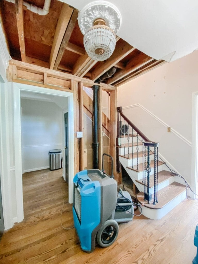 Water Damage, Demolition, and Where We Go From Here