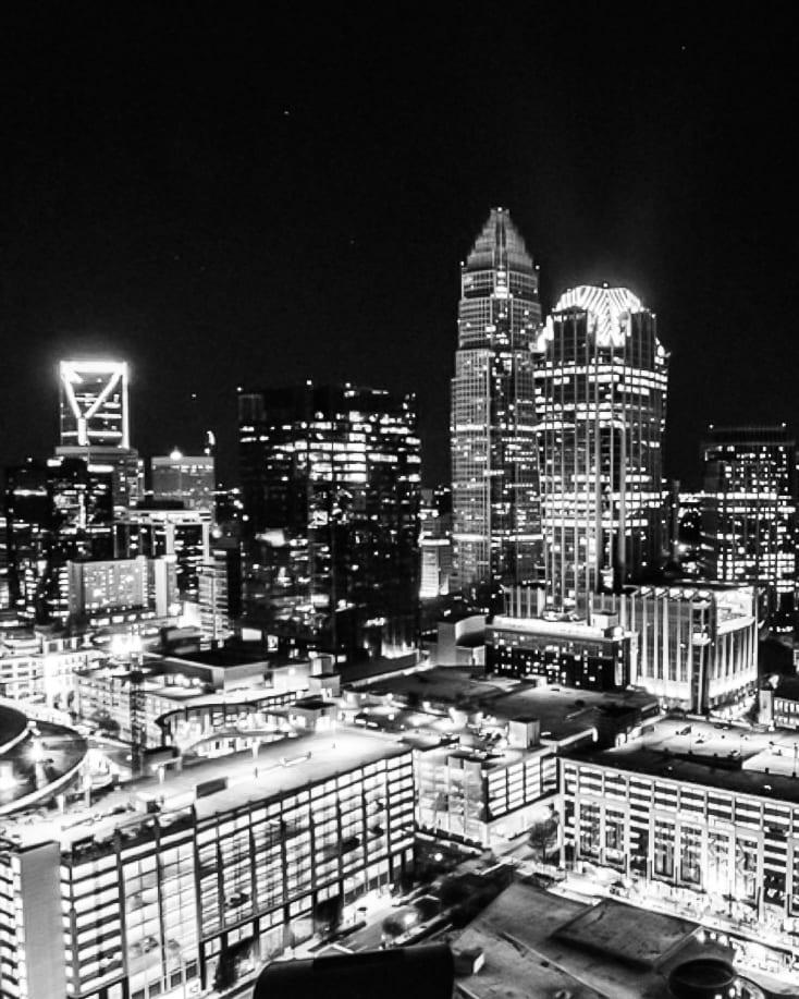 Fahrenheit Charlotte Skyline View