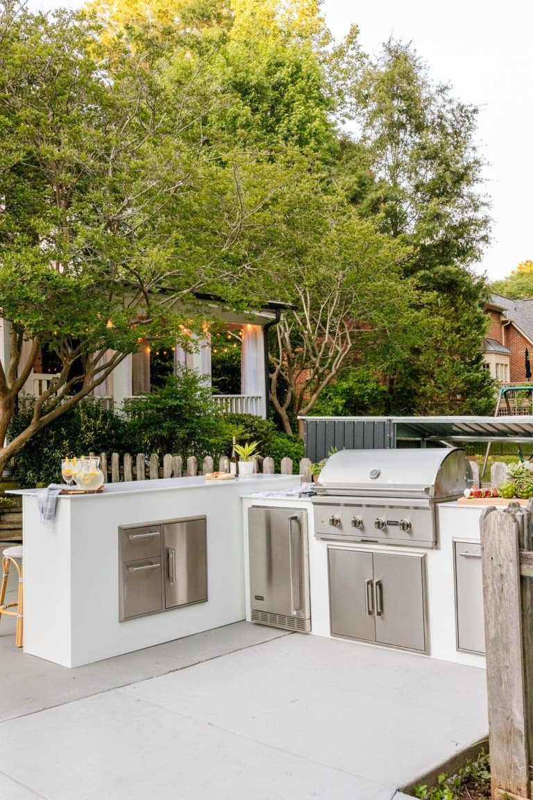 Our Modular Outdoor Kitchen Built in a Day!