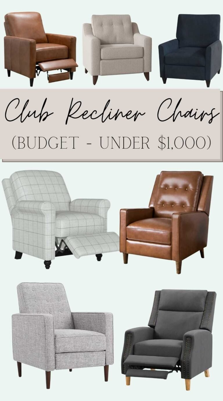 Our Favorite Designer-Look Modern Recliner Chairs