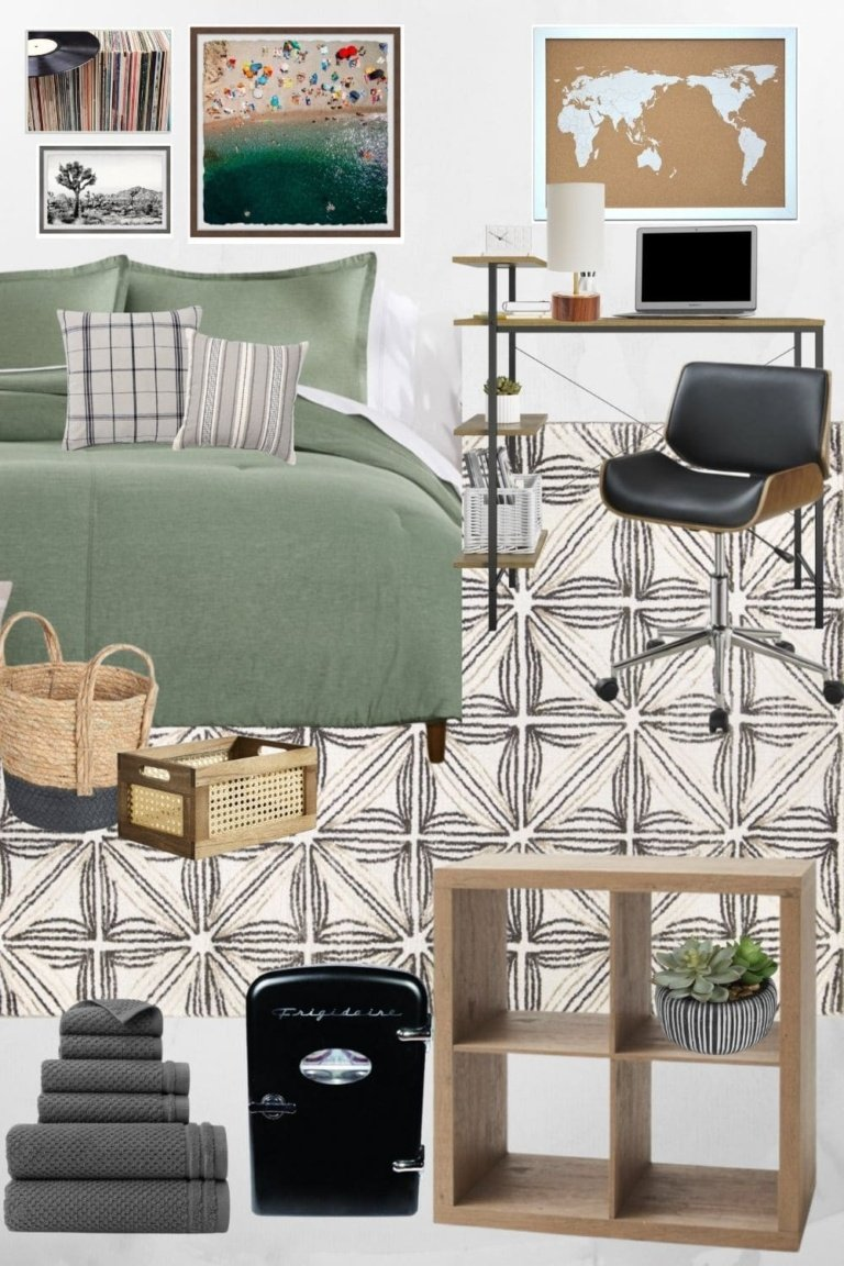 Mood Board Monday: 4 Dorm Room Ideas for Boys and Girls